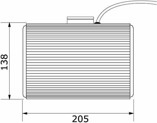Omnitronic PS-05 ELA-plafondluidspreker 20 W 100 V Wit 1 stuks