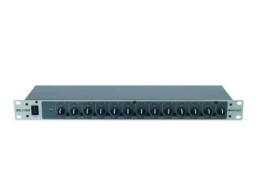 Omnitronic ZD-1120 19 inch mengpaneel Aantal kanalen:12