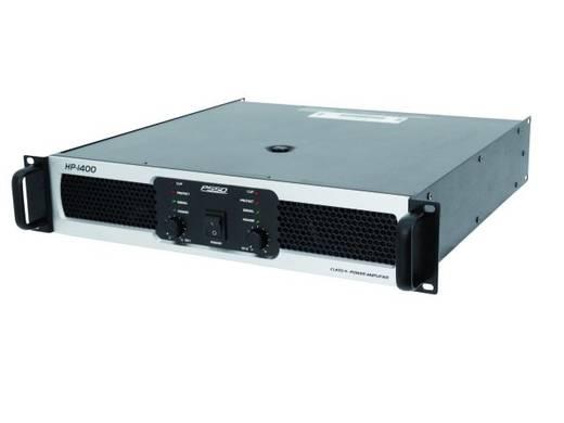 PSSO HP-1400 PA-versterker RMS vermogen per kanaal op 4 Ω: 700 W