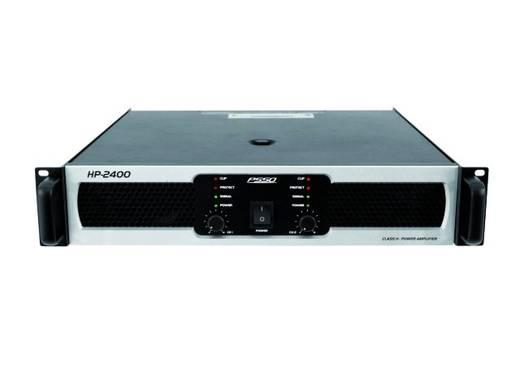 PSSO HP-2400 PA-versterker RMS vermogen per kanaal op 4 Ω: 1200 W