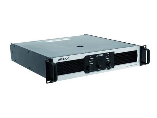 PSSO HP-3200 PA-versterker RMS vermogen per kanaal op 4 Ω: 1600 W