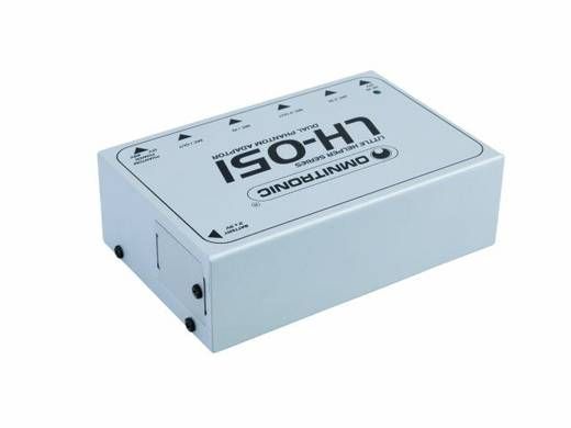 Omnitronic LH-051 Dual 10355051 Fantoomvoeding