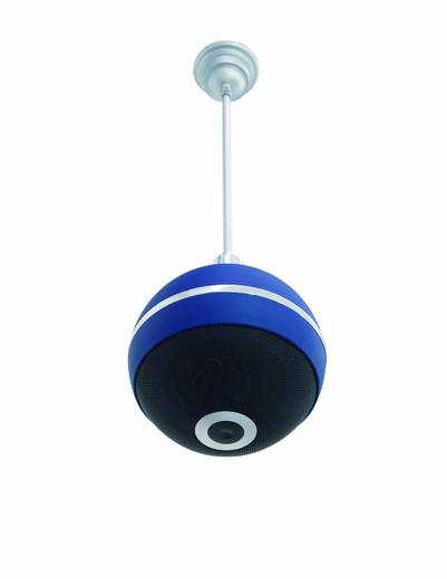 Omnitronic WPC-6B ELA-plafondluidspreker 20 W 100 V Blauw 1 stuks