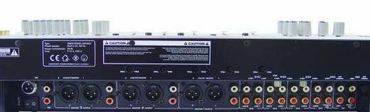 Omnitronic EM-650 19 inch mengpaneel Aantal kanalen:5