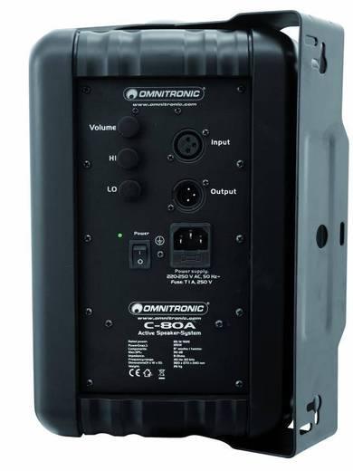 Actieve studio monitor 20 cm (8 inch) Omnitronic C-80A 80 W 1 paar