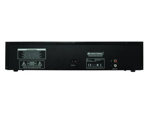 Omnitronic XMP-1400 CD-/MP3-speler