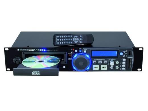 DJ 19 inch enkele CD-player Omnitronic XDP-1400