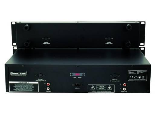 Omnitronic XCP-2800 DJ dubbele CD-speler