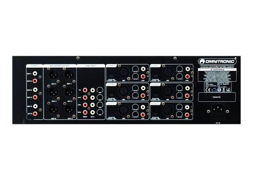 Omnitronic MZD-860 19 inch mengpaneel Aantal kanalen:6