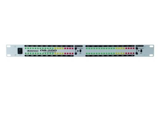 Omnitronic DB-200 2-kanaals 19 inch volumeaanduiding