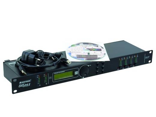 Omnitronic 4-kanaals 19 inch frequentiewissel Met display