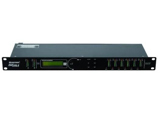 Omnitronic DXO-26E 6-kanaals 19 inch frequentiewissel Met display