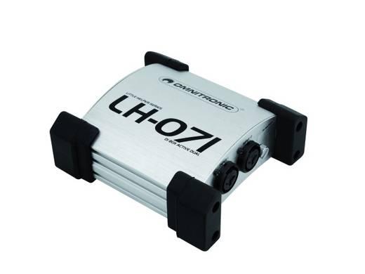 Actieve DI box 2-kanaals Omnitronic LH-071 Duale active