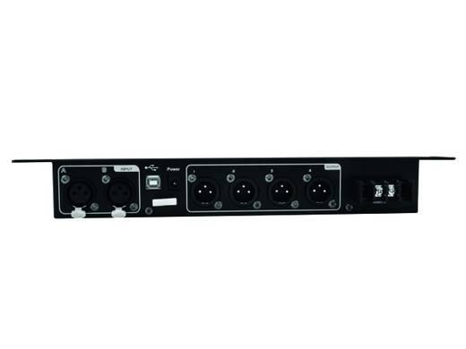 Omnitronic DXO-24S 4-kanaals 19 inch frequentiewissel Met software