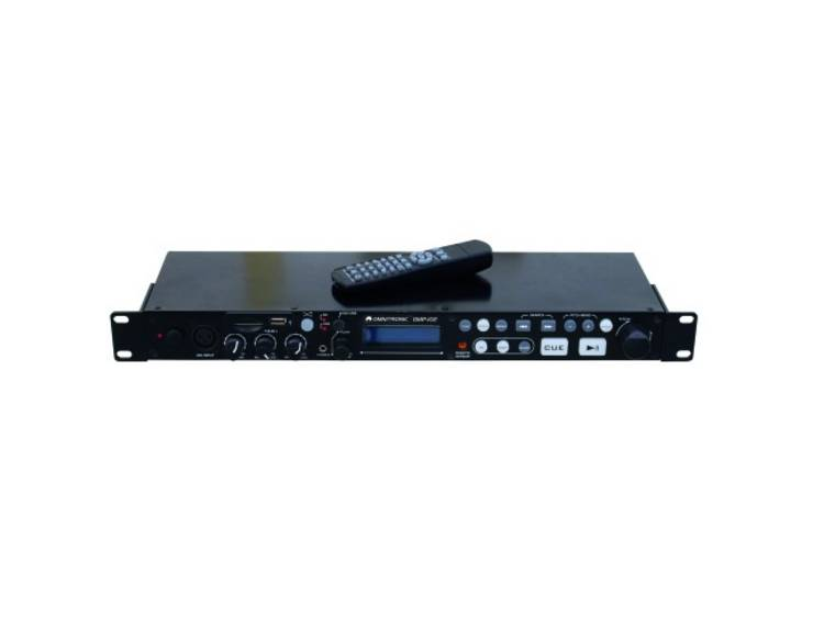 DJ 19 inch enkele media-player Omnitronic DMP-102