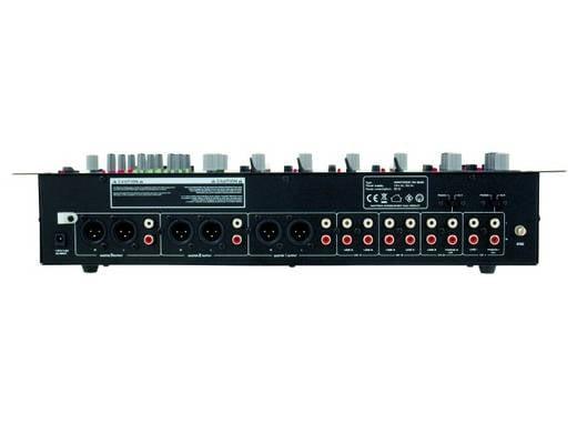Omnitronic EM-640B DJ-mixer 19 inch inbouw