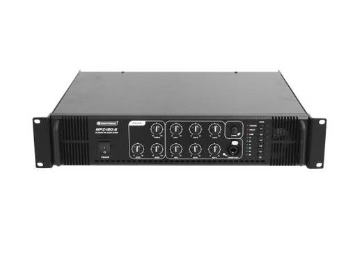 Omnitronic MPZ-180,6 PA mengversterker
