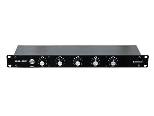 Omnitronic EQ-25 1-kanaals 19 inch equalizer