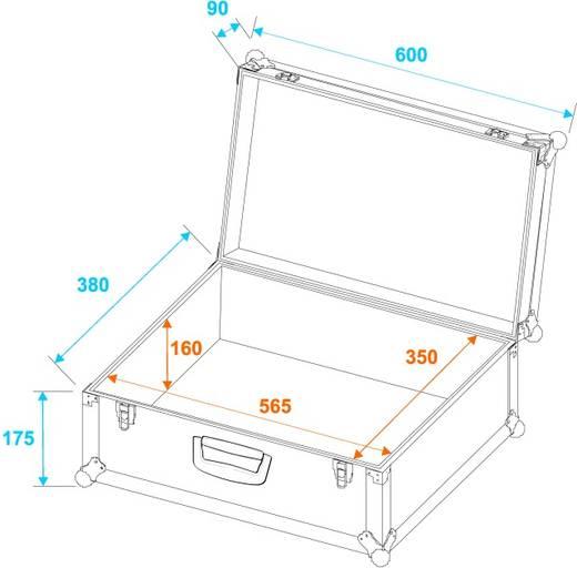 Flightcase 30126200 (l x b x h) 255 x 600 x 390 mm