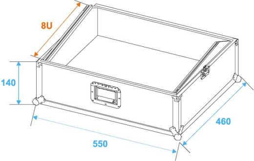 Flightcase MCB-19 (l x b x h) 270 x 580 x 500 mm