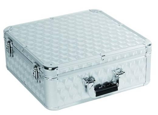 Flightcase CD-Case ALU (l x b x h) 190 x 430 x 430 mm