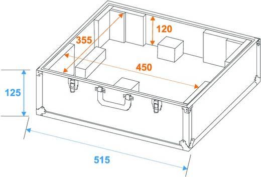 Flightcase schwarz -S- (l x b x h) 225 x 530 x 490 mm