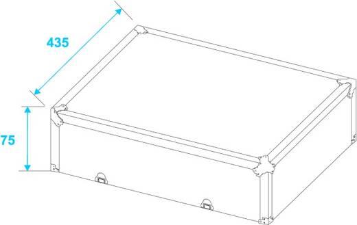 Flightcase Plattencase (l x b x h) 225 x 530 x 485 mm