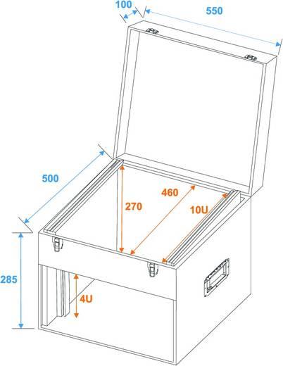 Flightcase 30112010 (l x b x h) 520 x 570 x 425 mm