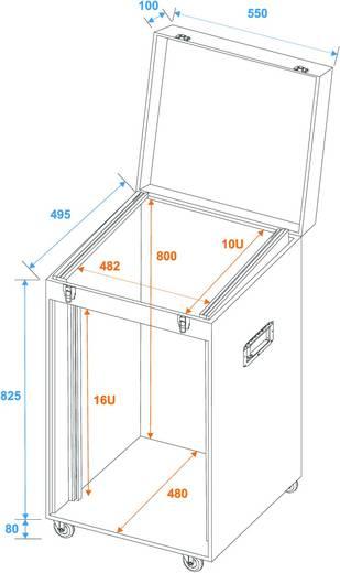 Flightcase 30112050 (l x b x h) 525 x 575 x 1040 mm