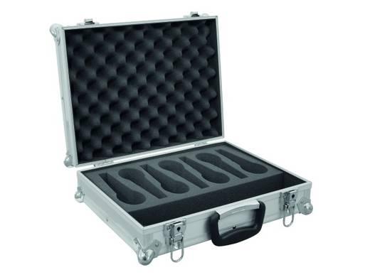 Microfoon flightcase (l x b x h) 135 x 415 x 330 mm