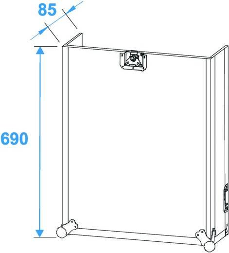 Spezial Kombi Case Flightcase (l x b x h) 570 x 640 x 960 mm