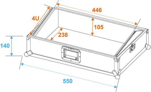 Flightcase 30111570 (l x b x h) 300 x 560 x 260 mm