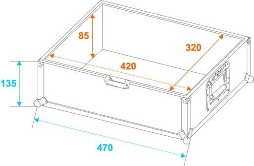 CD Tragekoffer Flightcase (l x b x h) 470 x 370 x 220 mm