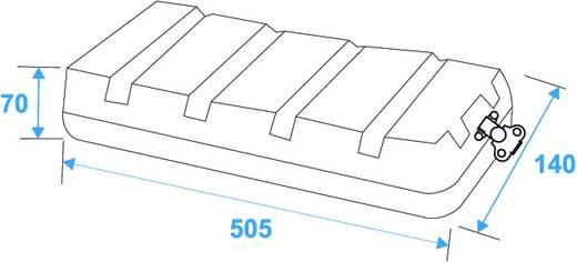 19 inch rack 2 HE 30106020 Kunststof