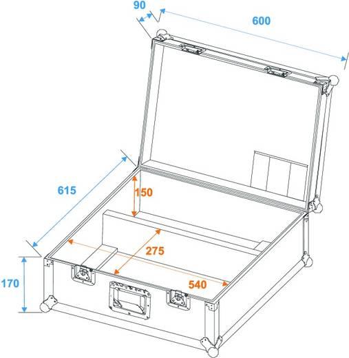 Flightcase für 2x TS-150/TS-7/TS-255 (l x b x h) 610 x 680