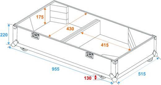 Roadinger Flightcase PAS-215 Flightcase (l x b x h) 510 x 960 x 920 mm