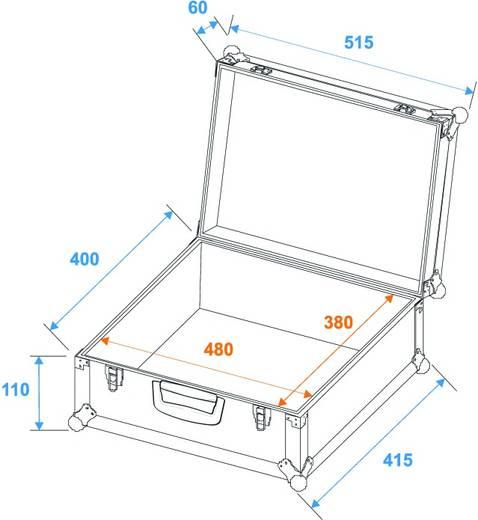 Universele koffer Case Foam Mt-1 zwart