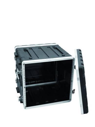 Kunststof rek KR-19, 10U, DD, zwart