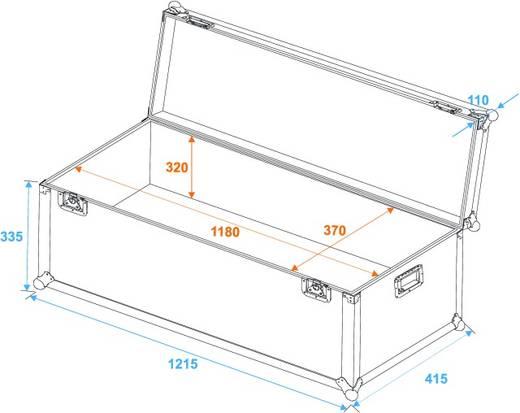 Roadinger Transport Case Flightcase (l x b x h) 430 x 1220 x 455 mm