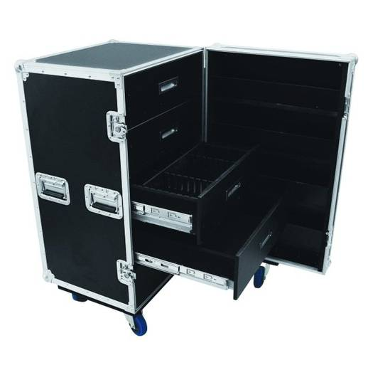 Flightcase 30126428 (l x b x h) 625 x 645 x 1170 mm