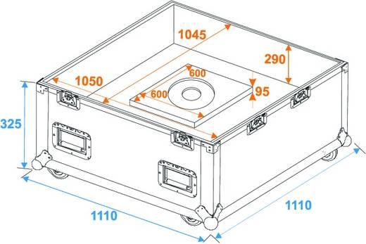 Flightcase 31000433 (l x b x h) 1100 x 1100 x 1200 mm