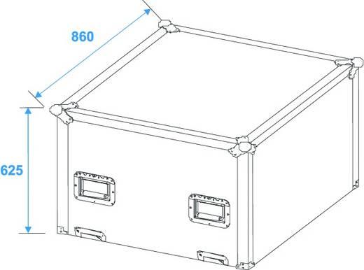 Flightcase Spiegelkugel 75cm Flightcase (l x b x h) 872 x 872 x 1057 mm