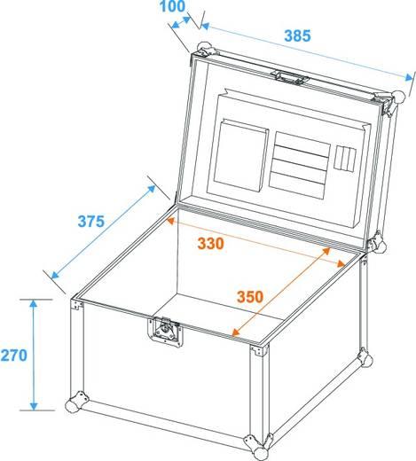 Flightcase Roadinger Universal Case (l x b x h) 410 x 400