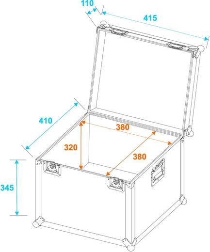 Universal-Transport-Case Flightcase (l x b x h) 435 x 435 x 460 mm
