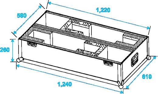 Roadinger LCD ZL32/42 Flightcase (l x b x h) 630 x 1260 x 800 mm