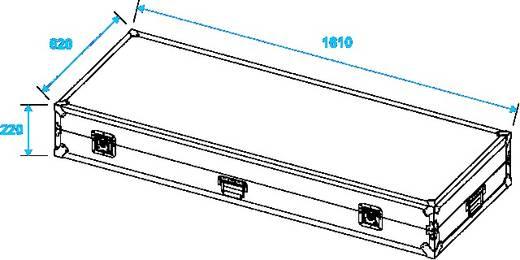 Flightcase 32000012 (l x b x h) 650 x 1650 x 250 mm