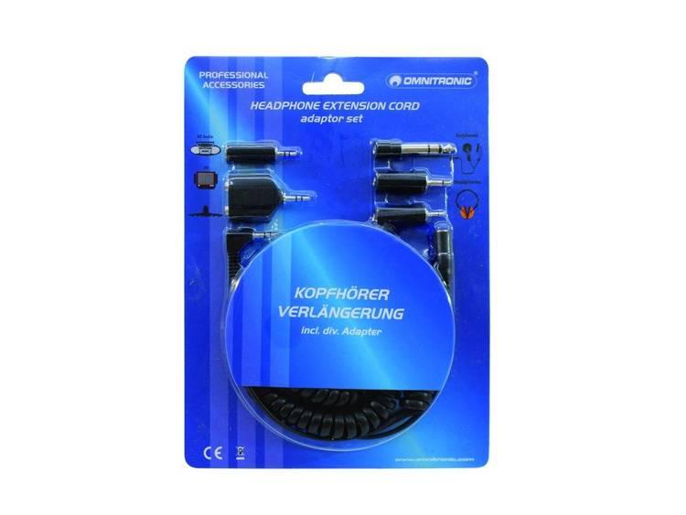 XLR, TRS, RCA, SPK-adapterkabel