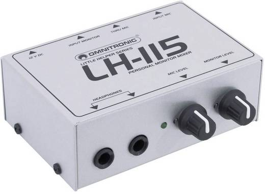 Omnitronic LH-115 monitormengpaneel