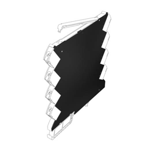 Weidmüller CH20M6 BC 4P-4P BK DIN-rail-behuizing deksel 50 stuks