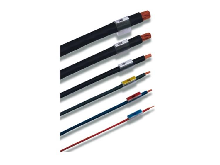Kabelmarkering Montagemethode: Schuiven Markeringsvlak: 12 x 16.1 mm Geschikt voor serie Enkele aders Transparant Weidmüller TM 5/12 HF/HB 1719860000 Aantal